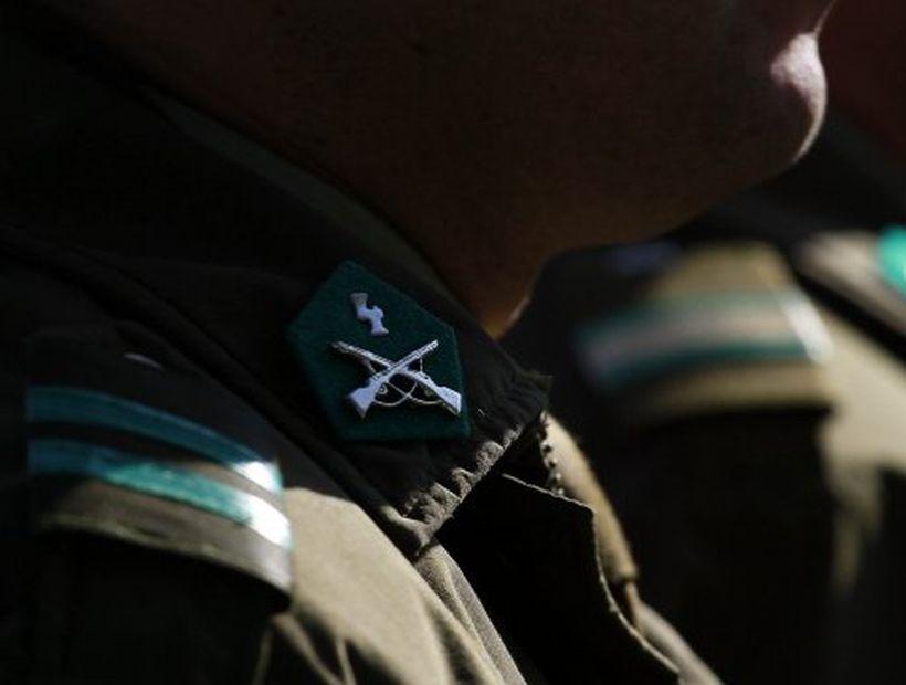 Carabinero que asaltó un banco en Providencia fue condenado a 5 años de presidio