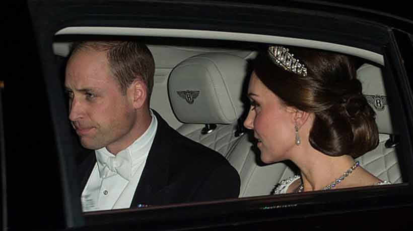 Kate Middleton volvió a usar la tiara favorita de Diana de Gales