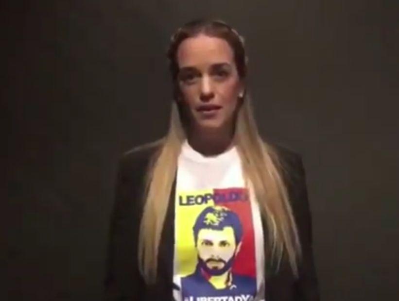 Lilian Tintori envió su apoyo a Piñera: