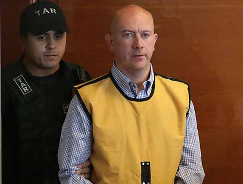 Rafael Garay regresó a la cárcel después de nueve días de arresto domiciliario