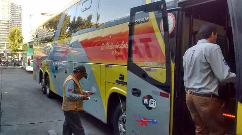 Autoridades fiscalizan buses por viajes en Año Nuevo
