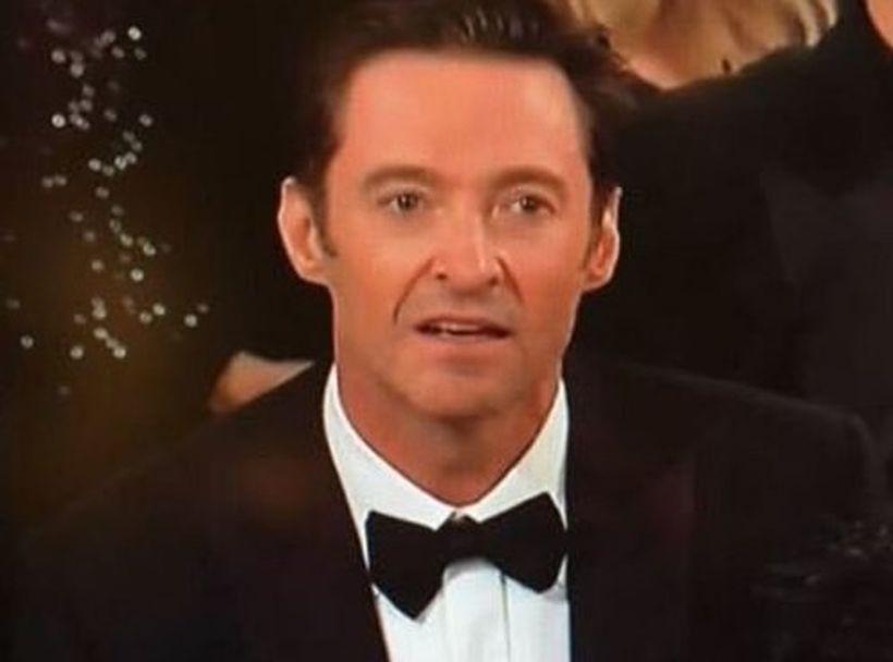 Hugh Jackman protagonizó el primer meme del año tras perder un Globo de Oro