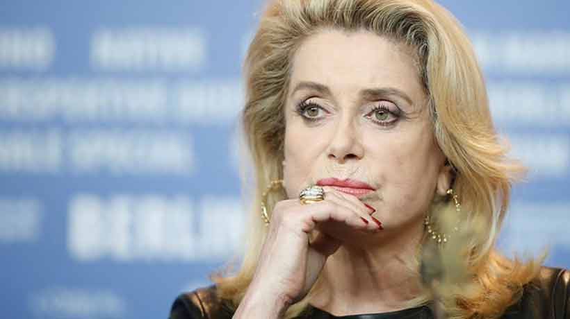 Catherine Deneuve se disculpó con víctimas de abusos