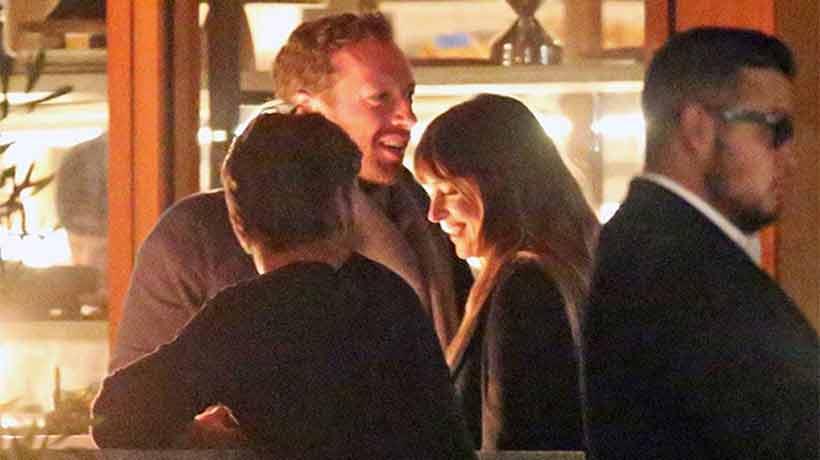 Chris Martin y Dakota Johnson fueron fotografiados juntos por primera vez