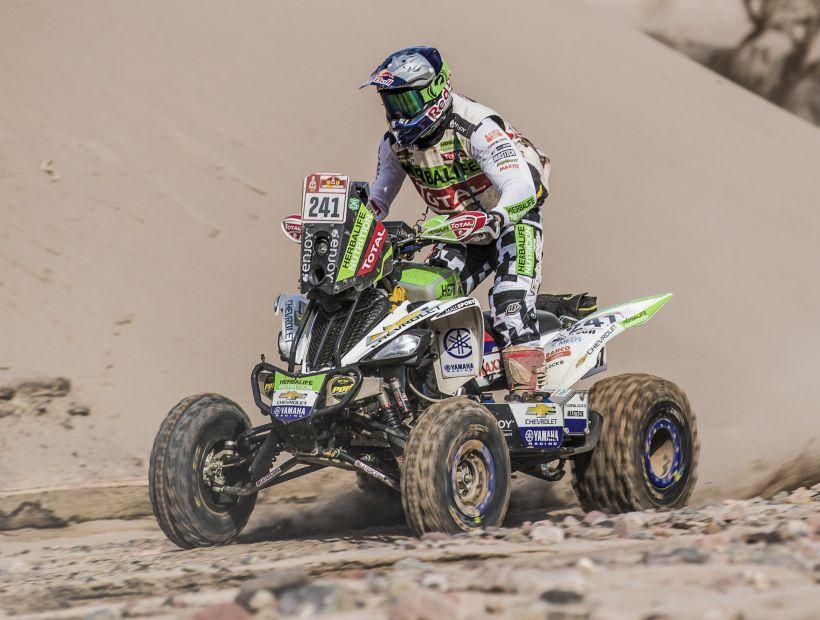 Ignacio Casale sigue firme al frente del Dakar 2018 tras 11ª etapa