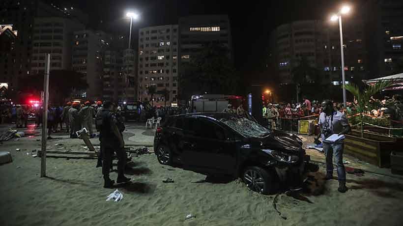 Un bebé muerto y 16 heridos por atropello masivo en Río de Janeiro