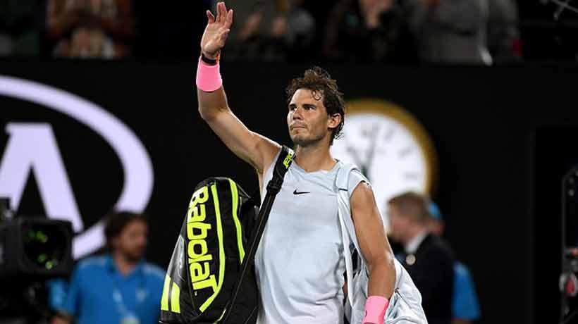 Nadal se retiró del Abierto de Australia por lesión
