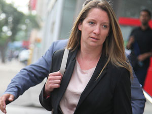 Defensa de Natalia Compagnon solicitó audiencia por $ 187 millones confiscados a Caval