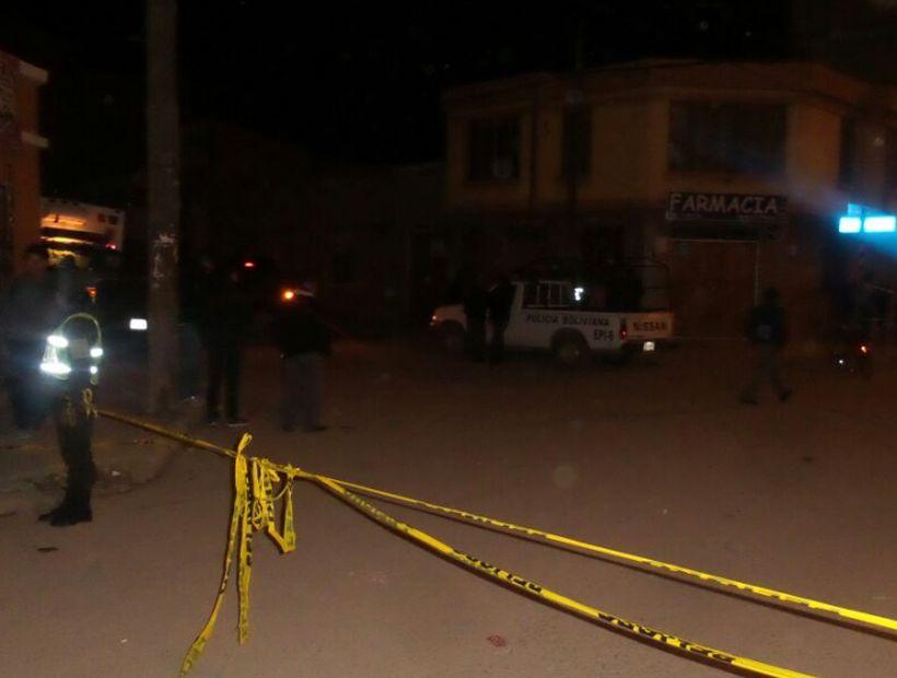 Explosión en Bolivia: dos personas murieron en Oruro