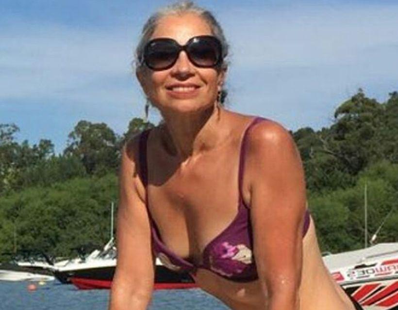 Milf chilena en bikini