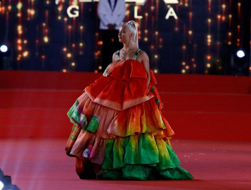 Vesta Lugg Sobre Su Look En La Gala De Vina 2019 Yo Muestro Mi